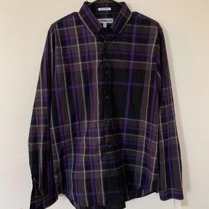 Express Men's Shirt, Extra Slim Fit, Long Sleeve